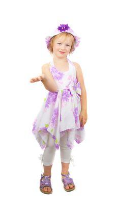 Free Little Fashionable Girl Royalty Free Stock Image - 10066386