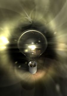 Free Lightbulb Royalty Free Stock Photography - 10067627