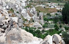 Free Goreme Landscape In Cappadocia Stock Photos - 10068163