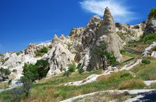 Free Goreme Open Air Museum Royalty Free Stock Image - 10068196