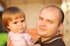 Free Dad And Daughter Royalty Free Stock Photo - 10069435