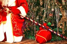 Free Santa With Gifts Royalty Free Stock Photo - 10069475