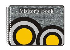 Visitor S Book Stock Photos