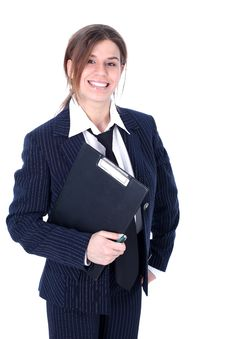 Free Friendly Businesswoman Royalty Free Stock Photo - 10069815