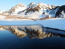 Free Reflection, Mountainous Landforms, Mountain, Wilderness Royalty Free Stock Photo - 100626185