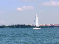 Free Waterway, Water Transportation, Sky, Sail Royalty Free Stock Photo - 100627395