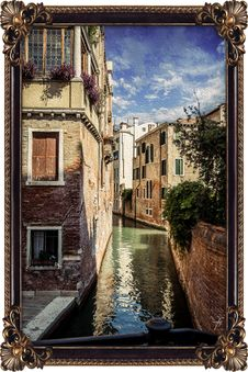 Free Waterway, Water, Canal, Reflection Royalty Free Stock Image - 100632226