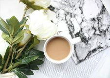 Free Cup, Flower, Coffee Cup Royalty Free Stock Photography - 100633897