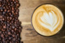 Free Coffee, Marocchino, Drink, Latte Stock Images - 100638454