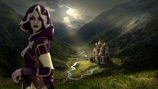 Free Mountain, Adventurer, Grass, Sky Stock Photography - 100638772