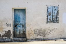 Free Wall, Painting, Window, Facade Royalty Free Stock Photos - 100645658