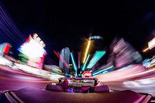 Free Purple, Amusement Ride, Light, Night Royalty Free Stock Photos - 100651368