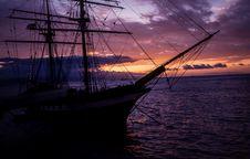 Free Sea, Sky, Sailing Ship, Tall Ship Royalty Free Stock Photo - 100651505