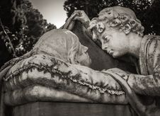 Free Statue, Black And White, Sculpture, Stone Carving Royalty Free Stock Photography - 100652127