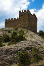 Free Ruins Of The Genoa Fortress Royalty Free Stock Photo - 10072195