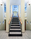 Free Luxury Hall With Staircase Stock Photo - 10075130