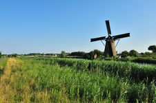 Free Windmill Landscape Stock Photo - 10070330