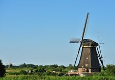 Free Windmill Landscape Royalty Free Stock Photo - 10070345