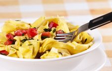 Free Tortellini Primavera Royalty Free Stock Photography - 10071257