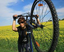Free Bike Royalty Free Stock Photos - 10071568
