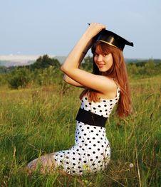 Free Graduate Girl Stock Photos - 10071643