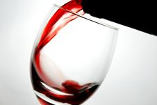 Free Pouring Red Wine Stock Photos - 10072343