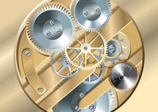 Free Clockworks Gears Royalty Free Stock Image - 10073276