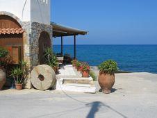 Free Greek Landscape Royalty Free Stock Photo - 10075125