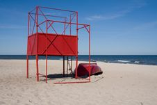 Free Lifeguard Post Royalty Free Stock Photos - 10075208