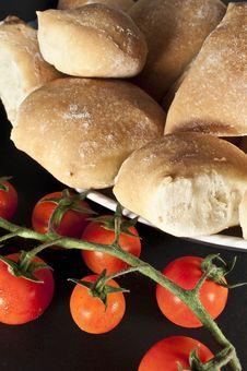 Free Tomatos And Breads Stock Photos - 10078533