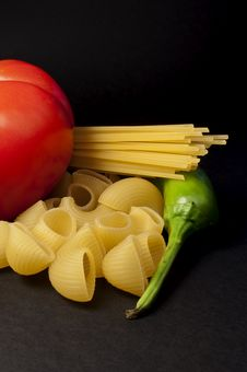Free Italian Gastronomic Composition Royalty Free Stock Photos - 10078538