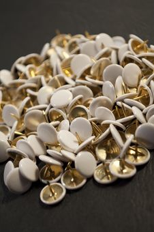 Free Some Thumbtacks 2 Royalty Free Stock Images - 10078589