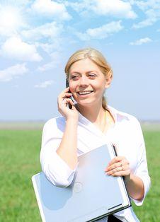 Free Happy Businesswoman Stock Photos - 10078743