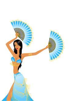 Free Dancing Girl Stock Images - 10079034