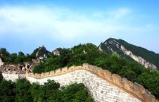 Free The Great Wall Royalty Free Stock Photography - 10079247