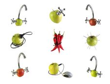 Free The Concept Of Fruit Royalty Free Stock Photos - 10079638