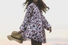 Free Clothing, Fashion Model, Outerwear, Kimono Royalty Free Stock Photography - 100702997