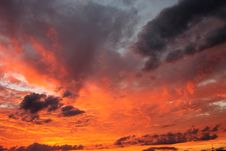 Free Sky, Afterglow, Red Sky At Morning, Cloud Royalty Free Stock Photo - 100705655