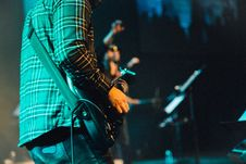 Free Guitarist, Performance, Stage, Musician Royalty Free Stock Image - 100706256