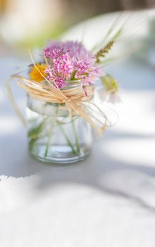 Free Flower, Yellow, Centrepiece, Vase Stock Image - 100707211