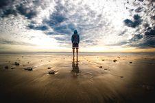 Free Sea, Sky, Horizon, Cloud Stock Images - 100708554