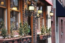 Free Home, Christmas Decoration, Lighting, Window Stock Photos - 100709613