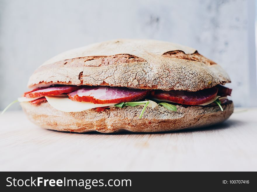 Breakfast Sandwich, Sandwich, Pan Bagnat, Ham And Cheese Sandwich