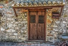 Free Door, Wall, Stone Wall, Facade Royalty Free Stock Image - 100714836