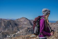 Free Mountainous Landforms, Ridge, Mountain, Wilderness Royalty Free Stock Photography - 100715497