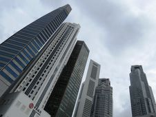 Free Metropolitan Area, Skyscraper, Building, Tower Block Stock Images - 100774504