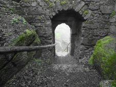 Free Ruins, Tunnel, Arch, Grass Stock Photo - 100775970