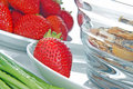 Free Breakfast With Strawberries Royalty Free Stock Photography - 10081637