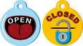 Free Open Closed Stock Photo - 10083520