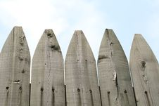 Free Wooden Fence Royalty Free Stock Images - 10080139